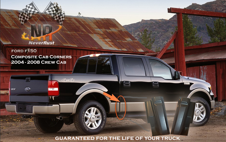 Ford F Dr Crew Cab Corners NEW Composite Material - 2008 f150